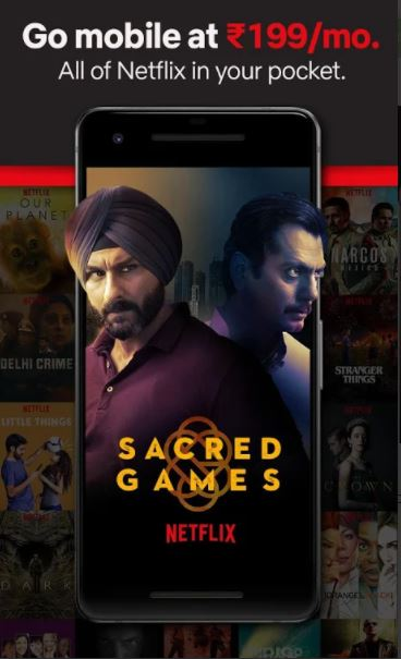 Netflix mod apk for Android